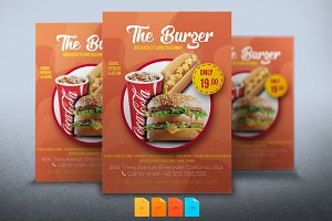 Flyer The Burger