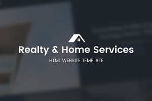 Realty & Home Services Website