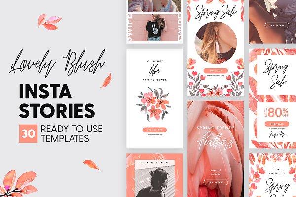Instagram Stories - Lovely Blush Ed…