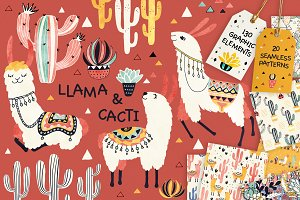 Llamas and Cacti