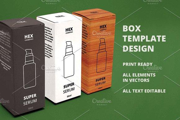 box template design templates creative market