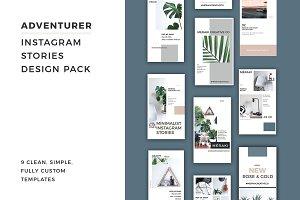 Adventurer Instagram Stories Pack