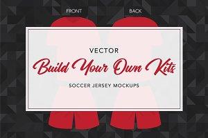 Soccer Kit Mockup Template