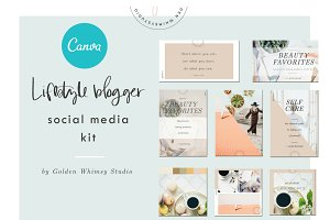 CANVA Lifestyle Blogger Kit