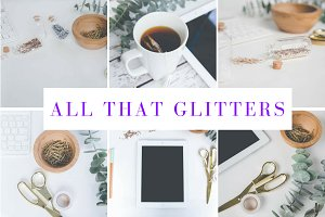Glitter Photo Bundle for Bloggers
