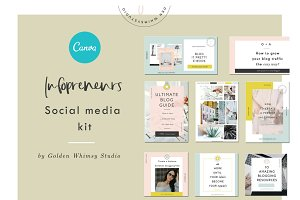 CANVA Infopreneur Kit