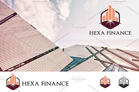 Property Investment Hexagon Logo