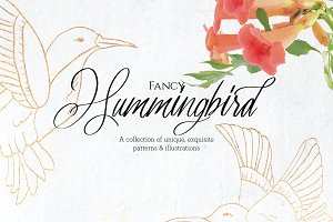 Fancy Hummingbird Collection