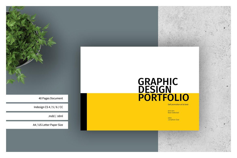 Graphic Design Portfolio Template ~ Brochure Templates ...