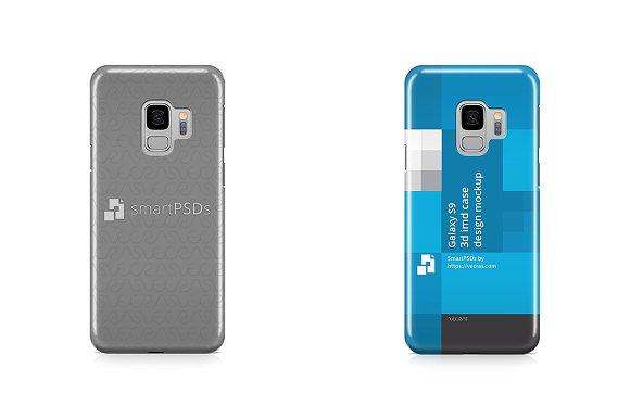 Download Galaxy S9 3d IMD Case Design Mockup
