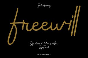 Freewill typeface
