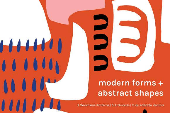 Modern Shapes Artboards Patterns