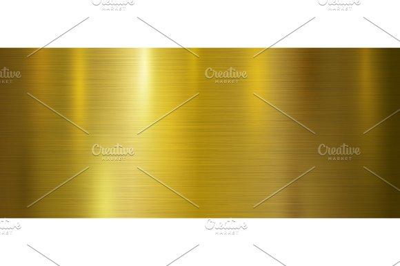 Gold metal texture background in Textures