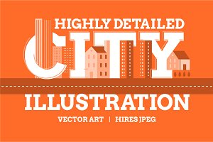 Cities Illustration Pack