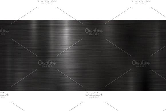 Black metal texture background in Textures