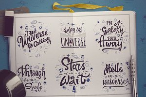 Space - Lettering