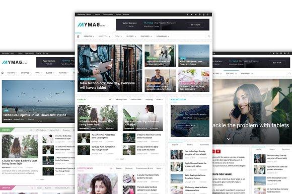 Mymag A Magazine WordPress Theme