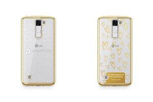 LG K8 TPU Electroplated Case Design