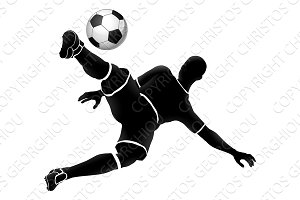 Image result for soccer silhouette