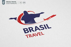 Brazil Travel Logo