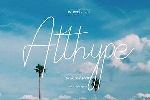 Althype monoline script
