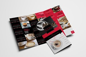Trifold Cafe Menu Template