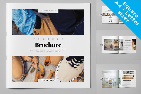 Product Brochure / Catalog ~ Brochure Templates ~ Creative Market
