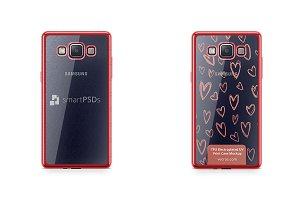 Samsung Galaxy A5 TPU Electroplated