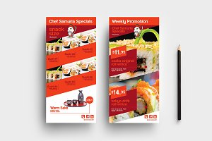 DL Sushi Restaurant Template