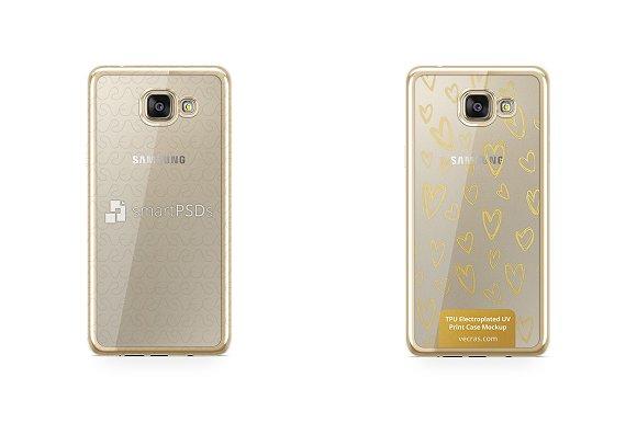 Galaxy A5 2016 TPU Electroplated