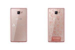 Galaxy A7 (2016) TPU Electroplated