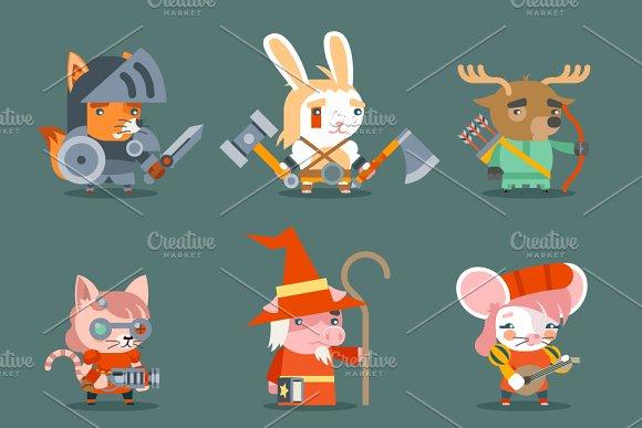 Animal Fantasy Rpg Game Heroes