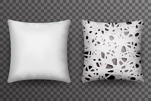 Soft pillow sleep abstract print