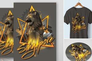 Sticker Tshirt Case Singapore