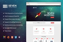 ZT Seven Joomla Hosting Template by Zoo Template in Joomla