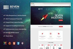 ZT Seven Joomla Hosting Template