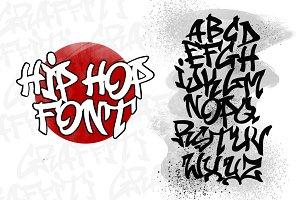 Samurai Hip Hop Graffiti Font