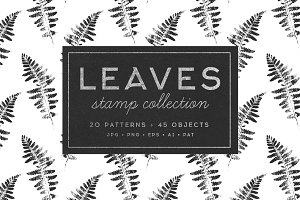Leaves – stamp collection