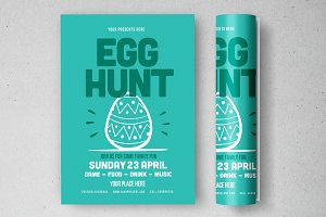 Egg Hunt Flyer