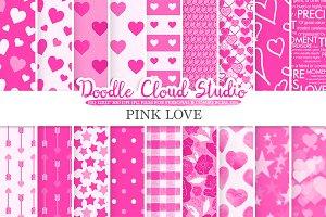 Pink Romantic digital paper