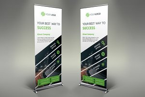 Business Roll Up Banner #080