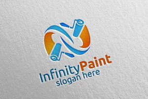 Infinity Painting Business logo