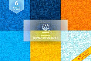 Human Resources Line Tile Patterns