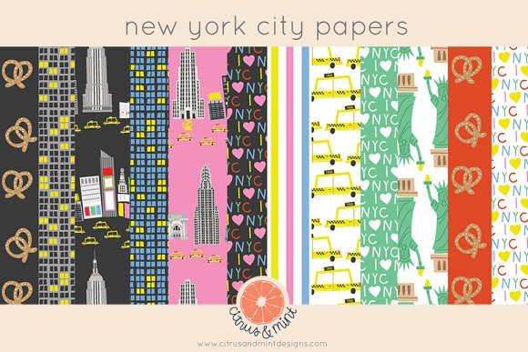 New York City Digital Papers