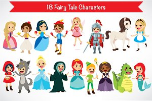 18 Fairy Tale Characters