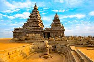 Shore Temple near Mahabalipuram