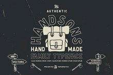 Handsons Typeface