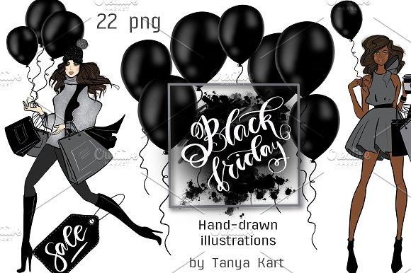 Black Friday Hand Painted Design Kit