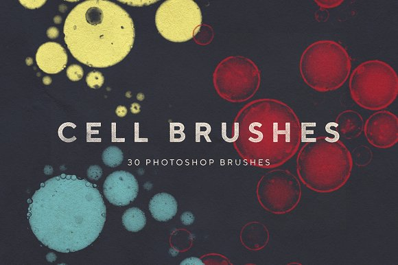 Cell Photoshop Brushes