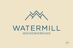 Water Conceptual Logo